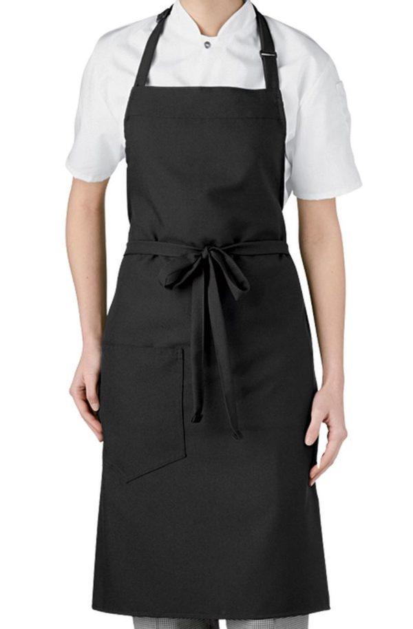 Фартук Гриль черный для официантов