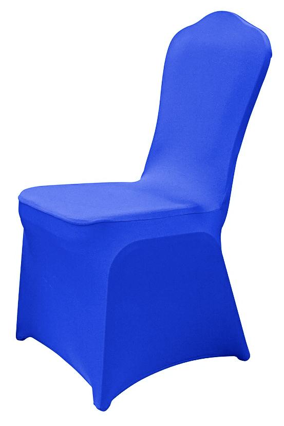 Синий чехол на стул