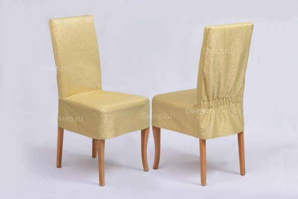 Чехлы на стулья Ричард оливковые