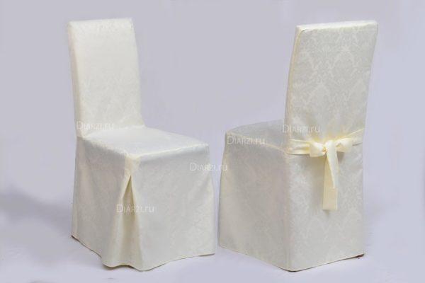 Чехол на стул из ткани Жаккард