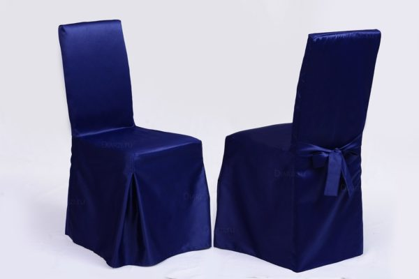 Чехол на стул из ткани Журавинка