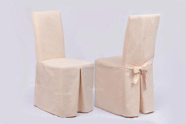 Чехол на стул кремовый Виго (Испания)