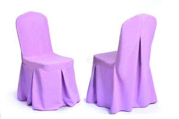 Чехлы на стулья ЧМ 35 сиреневые
