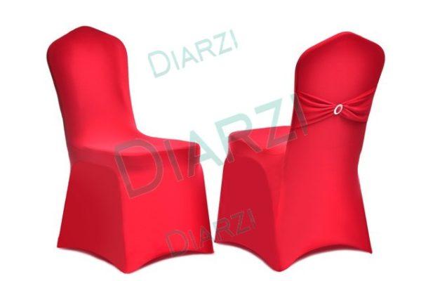 Чехлы на стулья ЧУ 09 универсальные красные