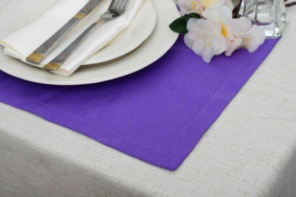 Подтарельник Панама Дольче фиолетового цвета