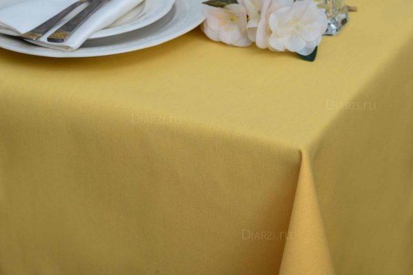 Скатерти АРС для столов желтые