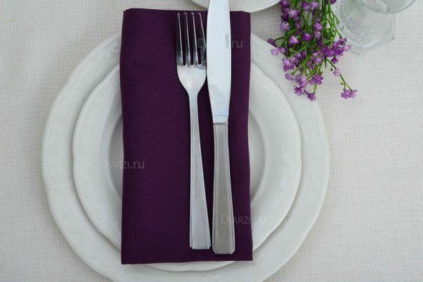 Салфетки из ткани ARS пурпуровые