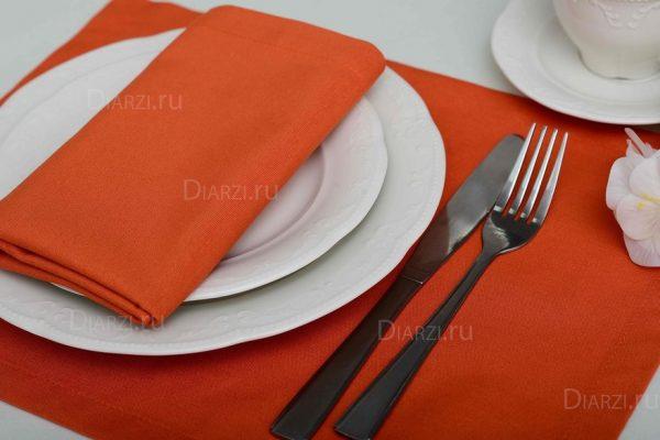 Салфетки оранжевые ткань ARS (Испания)