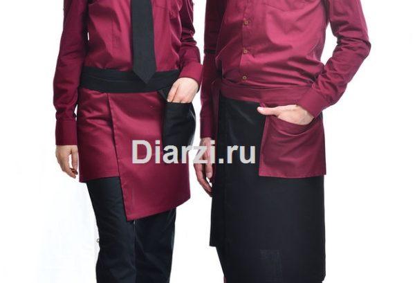 Красный фартук мужской и женский