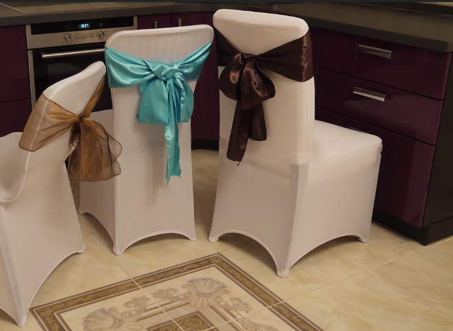 ткань для чехлов на стулья